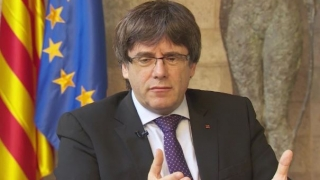 Carles Puigdemont va candida la alegerile din 26 mai, din exil
