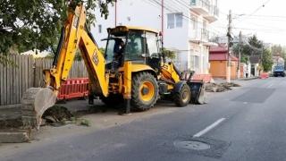 Carosabil și trasee pietonale, în curs de reabilitare, în mai multe zone din Constanța