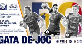 A 50-a ediţie a Trofeului Carpaţi la handbal feminin