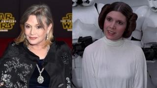 """Jale în lumea filmului! A murit Carrie Fisher, Prințesa Leia din """"Star Wars"""""""