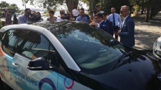 Primul serviciu de car sharing 100% electric, lansat de Primăria Constanţa