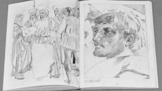 Artist român, laureat al Premiului pentru desen contemporan al Fundației Guerlain