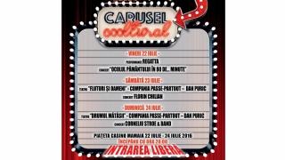 Caruselul Cooltural amerizează și weekend-ul ăsta în Mamaia