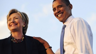 Barack Obama o însoţeşte pe Hillary Clinton în campanie