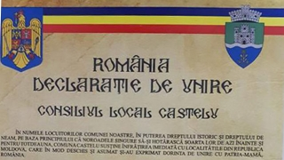 Primăria Castelu, prima din România care susține Unirea cu Republica Moldova