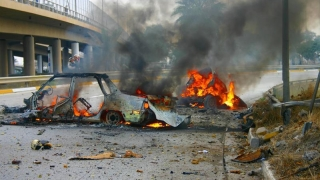 Atac sinucigaș în Irak