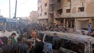 Atentat sângeros la Damasc