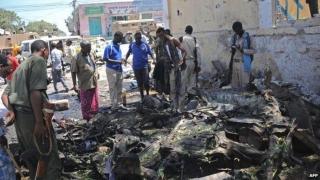 Atentat sinucigaș în Somalia: zeci de morți