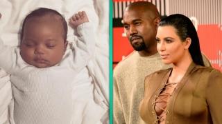 Au apărut primele fotografii cu Saint West, băiețelul lui Kim Kardashian