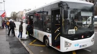 Autobuz nou în teste, la Constanța. Unde circulă?