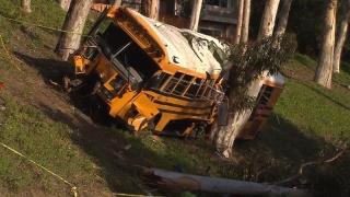 Autocar școlar accidentat în SUA