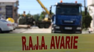 Trafic îngreunat pe bulevardul Aurel Vlaicu din cauza unei avarii