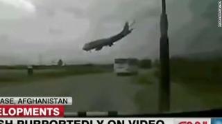 Avion cargo prăbușit în Afganistan