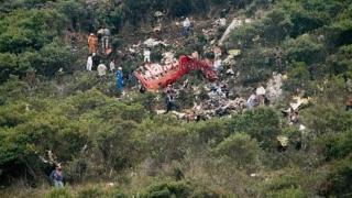 Avion cargo prăbușit în Columbia