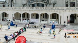 Baschet și spectacol la Constanța Streetplay streetball 3X3