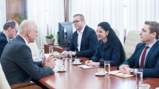 Întâlnire importantă la Ministerul Afacerilor Externe!