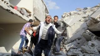Atac sinucigaș cu bombă la Damasc