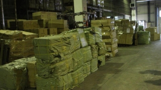 Bunuri de 200.000 de lei, confiscate în port