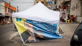 Candidatura lui Chițac, lovită în... corturile de campanie
