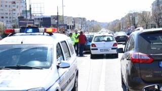 Persoană rănită într-un carambol rutier cu trei mașini implicate, în zona Dacia