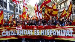 Catalonia, ruptă în două