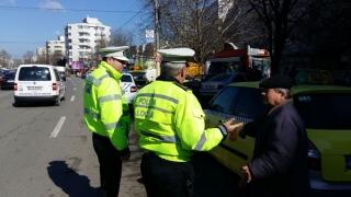 Câte amenzi au primit taximetriștii constănțeni în primele luni ale anului