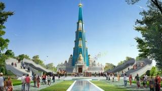 Cel mai înalt templu zgârie-nori din lume se construieşte în India