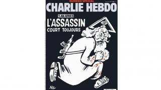 Charlie Hebdo îl prezintă pe Dumnezeu ca fiind asasin. Vaticanul dezaprobă!