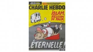 """""""Charlie Hebdo"""", după atentatele din Spania: """"Islamul, religie a păcii... veșnice"""""""