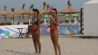 CN de volei pe plajă pentru senioare și-a desemnat semifinalistele