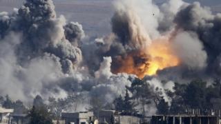 Coaliția condusă de SUA a atacat infrastructura Siriei, nu instalaţiile petroliere SI
