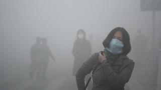 Cod roșu de poluare la Beijing