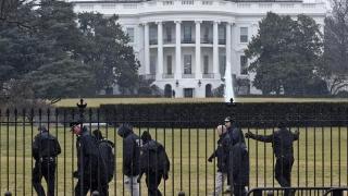 Colet suspect la Casa Albă