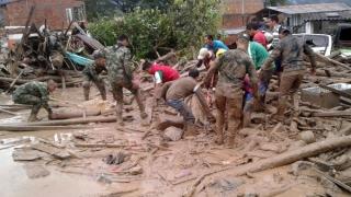 Columbia, în doliu! Sute de morţi după o alunecare masivă de teren