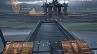 Concept Rolls-Royce de centru de control pentru cargoboturi care arată ca... Star Trek