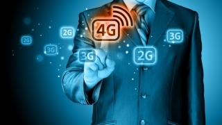 Conexiunile la internet mobil prin rețelele 4G s-au dublat, în 2016