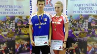 Constănțeanul Cristian Pletea - campion național la tenis de masă, în proba de dublu mixt