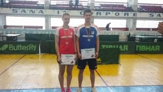 Constănțeanul Cristian Pletea confirmă că este cel mai bun junior din România