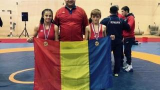 Constănțenii au cucerit 5 medalii la Balcaniada de lupte pentru cadeți