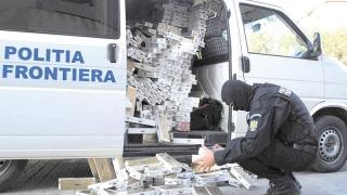 Contrabandiști săltați de oamenii legii