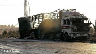 Convoi umanitar ONU vizat de raiduri aeriene în Siria
