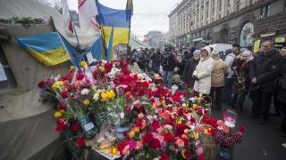 Corturi în Piaţa Maidan şi proteste antiguvernamentale la Kiev