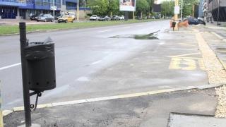"Coșuri de gunoi ""anti-vandali"" pe bulevardele Constanței"