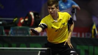Juniorul Cristian Pletea, dublu medaliat european la tenis de masă