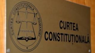 Curtea Constituţională anunţă oficial că a sesizat Comisia de la Veneţia