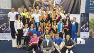 CS Farul Constanța a dominat CN de gimnastică aerobică