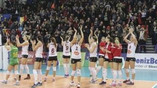 CS Volei Alba-Blaj este prima finalistă a campionatului feminin de volei