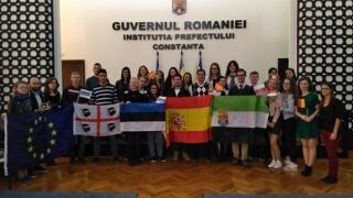Cum văd tinerii europeni Constanța?