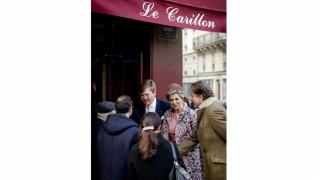 Cuplul regal olandez a vizitat cafeneaua Le Carillon, una din ţintele atacurilor de la Paris