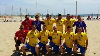 Debut cu victorie pentru AS Performer Constanța în Liga Campionilor la fotbal pe plajă